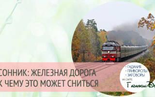 Сон идти вдоль железной дороги. Сонник: к чему снится поезд