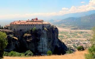Монастырский комплекс метеоры. Греция, Метеоры (на карте, фото, видео) – монастыри на вершинах скал или вершины святости
