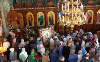 Церковные праздники в апреле. Православный календарь