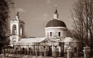 Что известно об истории храма христа спасителя.  Храм Живоначальной Троицы на Воробьёвых горах
