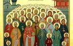 Арина: именины по церковному календарю. Сколько всего святых в православии? Был ли святой покровитель у мученика с «нехристианским» именем Меркурий