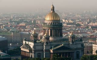 Вторая исаакиевская церковь. Легенды и факты в истории исаакиевского собора