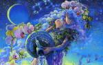 Мобильный гороскоп — Водолей. Любовный гороскоп — Водолей