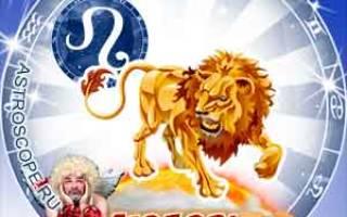 Любовный гороскоп козерог на год. Гороскоп любви для Льва