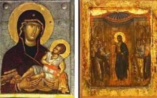 Древняя икона. Икона с точки зрения истории