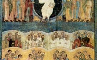 Вопросы священнику. О почитании святых в православии