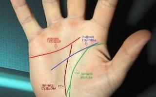 По какой руке смотрят линию судьбы. Что означают линии на ладони левой и правой руки — значения