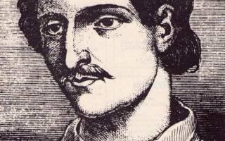 Кто такой джордано бруно. Джордано Бруно: краткая биография и его открытия