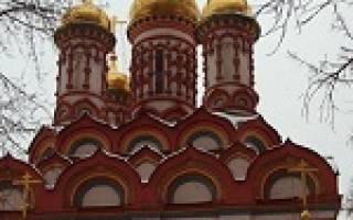 Церковь на яузе. Историческая справка — храм петра и павла