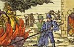 Инквизиция ученые. Самые известные жертвы инквизиции
