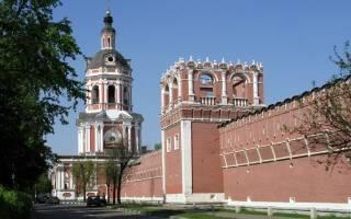 Монастырь на шаболовской. Донской монастырь