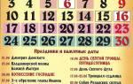 Православные церковные праздники в июне.