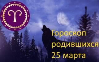 День рождения 25 марта знак зодиака.