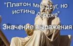 Мне друг но истина дороже кто. Платон – мой друг, но истина дороже