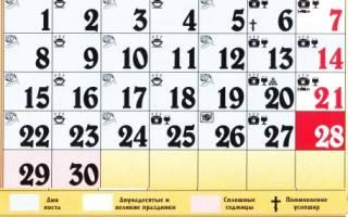 Православный календарь на апрельг. Православный календарь
