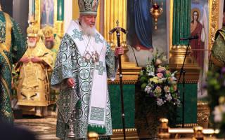 В свой день рождения патриарх кирилл рассказал о конце света. Патриарх московский и всея руси кирилл отмечает юбилей