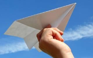 Бумажный самолетик играть 2. Как сделать бумажный самолетик (12 лучших схем)