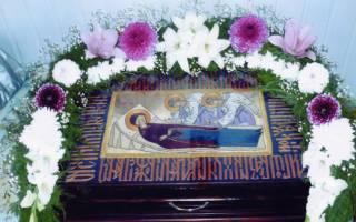 Апостол на успение божией матери. О запретах на праздник успения пресвятой богородицы