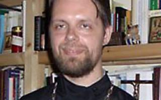 Священник филипп парфенов где служит. О.Филипп Парфёнов о крещении и катехизации