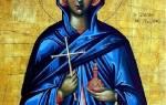 Святая марта икона и молитва. Святая Марфа