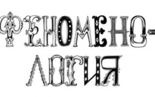 Феноменология как философское направление. Феноменология (Phenomenology)