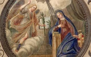 Когда благовещение пресвятой богородицы в году. В какой день празднуется Благовещение