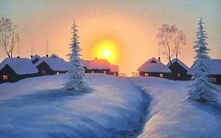Благоприятные дни в феврале. Февральский снег весною пахнет
