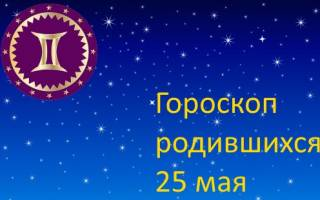 Знаки зодиака 25 мая.
