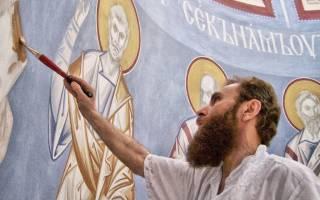 Зинон иконы. Современный иконописец отец зинон