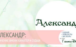 Что значит с древнегреческого имя александр. Имя Александр: происхождение и значение имени, влияние на характер и судьбу человека