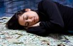 Сонник деньги бумажные крупные купюры получать. Что значит увидеть во сне бумажные деньги? К чему снится крупные деньги во сне