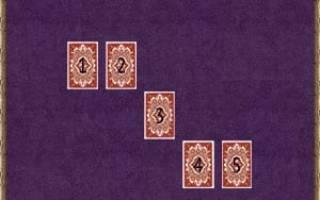 Гадания на ближайший месяц онлайн. Гадание на игральных картах: что вас ожидает в будущем? Расклад Таро на месяц: схема и описание