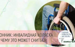 Сонник женщина в инвалидной коляске. Сонник